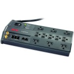 APC 11-Outlet Surge Protector 3020 Joules with Phone, Network Ethernet and Coaxial Protection, SurgeArrest Performance