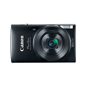 Canon PowerShot ELPH 190 IS Camera (Black)