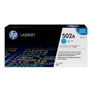 HP 502A - Cyan - Original - LaserJet - Toner Cartridge