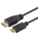High-Speed Mini HDMI® to HDMI® A Cable, 6ft