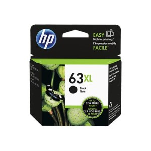 HP 63XL - High Yield - Dye-Based Black - Original - Ink Cartridge
